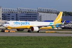 Cebu Pacific Airbus A321-253NX D-AVZU (RP-C4119) (widebodies) Tags: hamburg finkenwerder xfw edhi widebody widebodies plane aircraft flughafen airport flugzeug flugzeugbilder cebu pacific airbus a321253nx davzu rpc4119