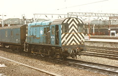 BR Class 08 08739 - Crewe (dwb transport photos) Tags: britishrailways shunter 08739 crewe