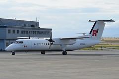 C-FWLK (LAXSPOTTER97) Tags: cfwlk de havilland canada regional dhc8 q300 airlines cn 184 1 aviation airport airplane cyvr