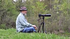 Self-Timer ~ Self-Portrait (Steve InMichigan) Tags: pentaconelectric50mmf18lens fotasym42eosmlensadapter asanuma400mmf63tokinalens fotodioxm42eflensadapter canoneosrebelt5i canoneosmcamera