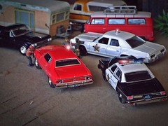 Flashback May 1978 ( 5/17/2019 ) (THE RANGE PRODUCTIONS) Tags: chevrolet hoscalefigures model dioramas diecast diecastdioramas toy modular display greenlight autoworld chevroletelcamio dodge monaco 1977pontiacleman fordgrantorino fordf100 vwbus