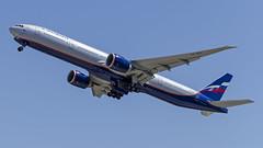 VQ-BQD Aeroflot - Russian Airlines Boeing 777-3M0(ER) (Zhuravlev Nikita) Tags: uhpp spotting elizovo kamchatka pkc boeing 777 boeing777 aeroflot