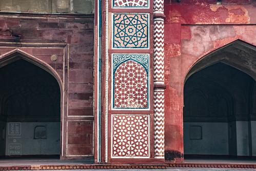 Geometric Tile Art