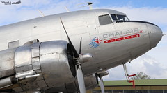 Douglas C-47B Skytrain CHALLAIR AVIATION F-AZOX 33352 Entzheim Evadays avril 2019 (Thibaud.S.) Tags: douglas c47b skytrain challair aviation fazox 33352 entzheim evadays avril 2019