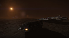Beagle Point (Rendevous)2 (Cmdr Hawkshadow) Tags: distantworlds2 elitedangerous aspexplorer anaconda