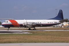 N188LE Opa Locka 7-2-1999 (Plane Buddy) Tags: n188le lockheed l188 electra kopf opalocka