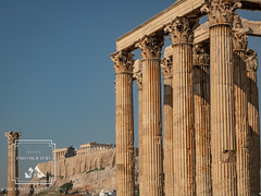Two for One (fentonphotography) Tags: athens greece columns architecture historicallocation travel building olympianzeus acropolis