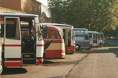 Vatikan Busparkplatz Nov 1979
