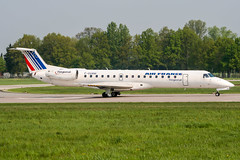 F-GUAM (PlanePixNase) Tags: aircraft airport planespotting haj eddv hannover langenhagen airfrance embraer 145 e145