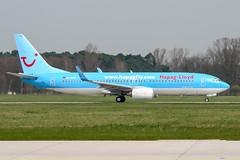 D-AHFN (PlanePixNase) Tags: aircraft airport planespotting haj eddv hannover langenhagen hapaglloyd tui boeing 737800 737
