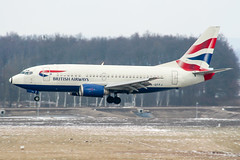 G-GFFJ (PlanePixNase) Tags: aircraft airport planespotting haj eddv hannover langenhagen britishairways british boeing 737