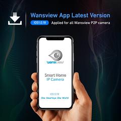 Wansview APP ios 1.0.18 (Wansview) Tags: wansviewapp ios p2pcamera ipcamera wificamera wirelesscamera secuirtycamera release software