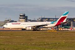 D-AXGC Eurowings Airbus A330-203 (buchroeder.paul) Tags: eddl dus dusseldorf international airport germany europe ground dusk daxgc eurowings airbus a330203