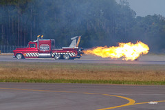 171105_037_JaxAS_JetTruck (AgentADQ) Tags: skip stewart pitts s2b aerobatic stunt plane shockwave jet truck jacksonville nas air show airshow