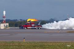 171105_035_JaxAS_JetTruck (AgentADQ) Tags: skip stewart pitts s2b aerobatic stunt plane shockwave jet truck jacksonville nas air show airshow