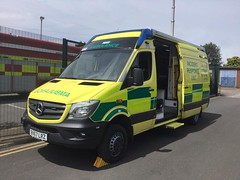 6365 - Notts - 23.06.18 - 35885807(2) (Call the Cops 999) Tags: uk gb united kingdom great britain england 999 112 emergency service services vehicle vehicles ambulance