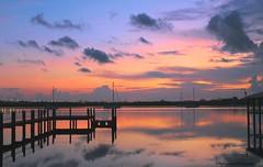 Paradise waits (Kathryn Louise18) Tags: florida canon kathrynlouise landscape seascape waterscape sailboats docks marina sunrise sunset reflection roberthunterlyrics gratefuldeadlyrics