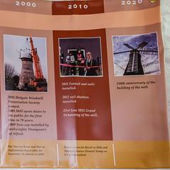 Holgate Windmill history timeline, 2000-2020.