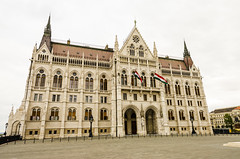 Grounds of Hungarian Parliament 4 (rschnaible) Tags: budapest hungary europe outdoors sight seeing building architecture parliament grounds government work production