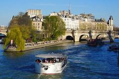 500 Paris en Mars 2019 - île de la Cité, Square du Vert-Galant, Pont Neuf (paspog) Tags: paris france seine mars march märz 2019 îledelacité squareduvertgalant pontneuf