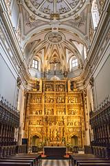 Retablo Mayor de la Iglesia (lebeauserge.es) Tags: rascafría madrid elpaular monasterio