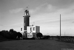Faro de Punta Carretas, Montevideo (Celso Kuwajima) Tags: lighthouse epsonv800 silverfastai 20190548 ocean building sea ilfordpanfplus50 architecture outdoor analogphotography leicasummicroncollapsibleltm502 bw leicamp montevideo montevideodepartment uruguay
