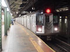 201905104 New York City subway station 'Borough Hall' (taigatrommelchen) Tags: 20190520 usa ny newyork newyorkcity nyc brooklyn icon urban railway railroad mass transit subway station tunnel train mta r142a