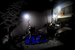 Paprihaven 1503 (MayorPaprika) Tags: canoneos50d ef28135mmf3556isusm 112 toy story paprihaven action figure diorama set custom mafex batman figures inc scoobydoo shaggy velma daphne fred batcave batmobile batboat bats underground