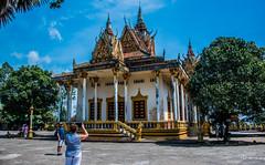 2019 - Cambodia - Sihanoukville - Wat Krom - 2 of 6 (Ted's photos - Returns late November) Tags: 2019 cambodia cropped nikon nikond750 nikonfx tedmcgrath tedsphotos vignetting watintnhean sihanoukvillewatintnhean watintnheansihanoukville watkrom sihanoukvillewatkrom watkromsihanoukville sihanoukville sihanoukvillecambodia photographer shadow shadows temple pagoda bluesky blue