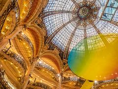 Galeries Lafayette dome (martin.ocando) Tags: europe family panama paris people vacations venezuela fotografía photographer