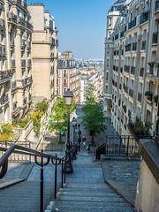 Montmartre Stairs (martin.ocando) Tags: europe family panama paris people vacations venezuela fotografía photographer