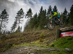 Tom (Alasdaircrawford) Tags: mtb mountain bike mountainbike vtt cycle jump drop ae forest scotland dh downhill dwn hill fr freeride enduro outdoor sport extreme 7 stanes