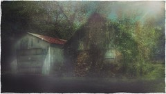 Somewhere in time.... (Sherrianne100) Tags: missouri ethereal edited mysterious dreamy littlehouse