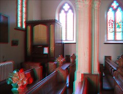 Penselwood in 3d (Somerset Bloke) Tags: penselwood village somerset england 3d anaglyph 2006