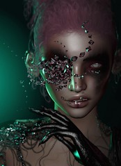 Infected (Alisa Perne) Tags: alisa26 alisaperne secondlife sl avatar zibska lelutka korina stealthic antinatural makeup applier glamaffair eclipse