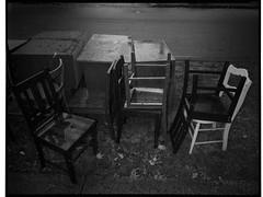 Chairs (@fotodudenz) Tags: fuji fujifilm ga645w ga645wi medium format point and shoot film rangefinder 28mm 45mm 2019 120 melbourne victoria australia ilford hp5 plus street photography