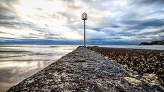 The pipe (geemuses) Tags: manly manlybeach extendedexposure glow reflection sea water pipe sign ocean waves sky clouds northernbeaches nsw newsouthwales landscape colour color sand rock canon camera nationalgeographic australia contrast light beautifullight