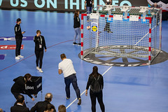 Torwandwerfen Handball WM 2019 in Köln