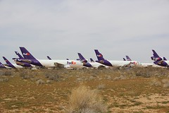 A310 N403FE Victorville 26.03.19-1 (jonf45 - 5 million views -Thank you) Tags: southern california logistics airport victorville march 2019 airliner civil aircraft jet plane flight aviation boneyard scrapyard storage yard fedex express airbus a310 n403fe