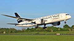 ET-ATG (AnDyMHoLdEn) Tags: ethiopian ethiopianairlines 787 dreamliner egcc airport manchester manchesterairport 23l