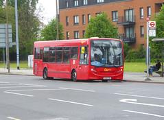 GAL SE69 - YX60FBU - ELTHAM ROAD YORKSHIRE GREY - SAT 18TH MAY 2019 (Bexleybus) Tags: goahead go ahead london eltham road green yorkshire grey se9 tfl route b16 adl dennis enviro 200 se69 yx60fbu