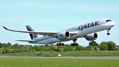 A7-ALA (AnDyMHoLdEn) Tags: qatar a350 oneworld egcc airport manchester manchesterairport 23l
