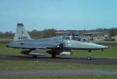 NF-5B K-4005 - RNethAF 313Sqn 850424 Soesterberg (Nikon Photographer NL) Tags: rnethafnavy military dutch nederlands aviation