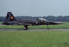NF-5A K-3058 - RNethAF 314Sqn 810800 Eindhoven (Nikon Photographer NL) Tags: rnethafnavy military dutch nederlands aviation