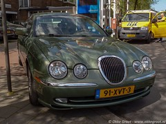 Den Haag, april 2019 (Okke Groot - in tekst en beeld) Tags: denhaag 91xvt3 jaguarstype30litrev6executive vanalkemadelaan sidecode7 nederland