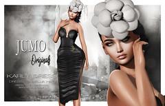 Karly Dress (junemonteiro) Tags: jumo originals chic glamorous feminine maitreya
