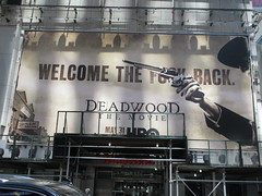 2019 Deadwood The Movie Billboard Times Square 8474 (Brechtbug) Tags: deadwood the movie billboard timothy olyphant ian mcshane molly parker kim dickens brad dourif keith carradine john hawkes jeffrey jones number one times square building below no longer existing orange news zipper ticker 42nd street broadway near 7th avenue new york city 05182019 next walgreens nyc hbo tv series 2004 2006 show television cable 2019