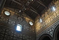 San Miniato al Monte (Elizabeth Almlie) Tags: italy florence church sanminiatoalmonte wall ceiling marble beams