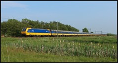 11/11 NSR E186 040 - Delft-Zuid, 18-05-2019 (dloc567) Tags: train trein zug zuch delft traxx br186 icr bombardier nsr