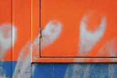 orange (fhenkemeyer) Tags: blue orange beach promenade netherlands denhaag scheveningen